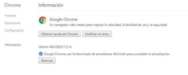 Google Chrome℗ 50