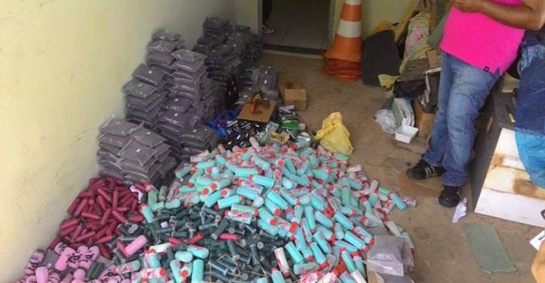 Polícia deflagra operação prende três e recupera munição ilegal na região de Oeiras 1