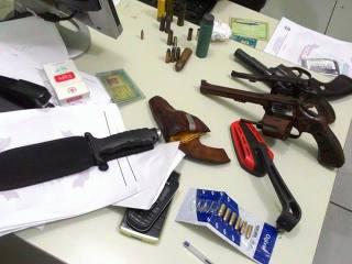 Polícia deflagra operação prende três e recupera munição ilegal na região de Oeiras 9