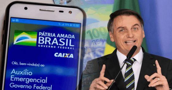 Novo auxílio emergencial começa esse mês! Veja como governo Bolsonaro vai pagar você
