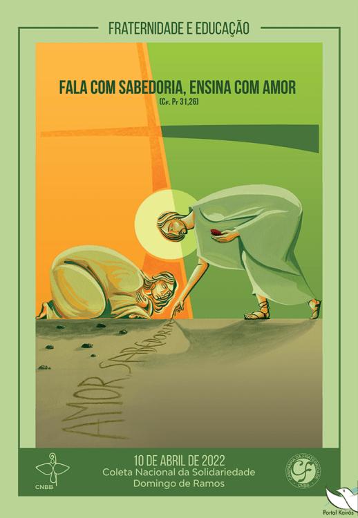 Cartaz da Campanha da Fraternidade 2022