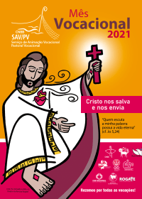 Cartaz do Mês Vocacional 2021