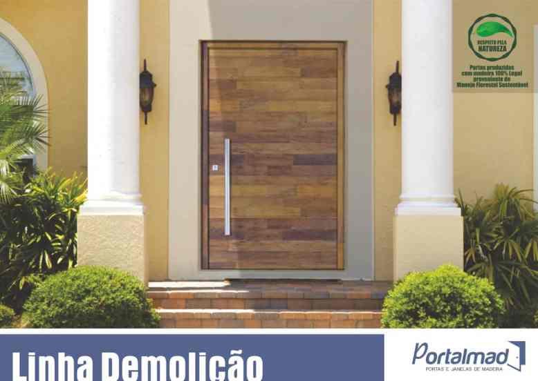 Portas de Demolição - Madeira - Portalmad