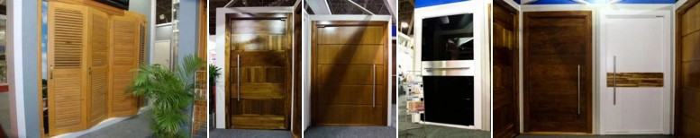 Wood doors - Entry - Entrance - Export - Brazil - Beauty