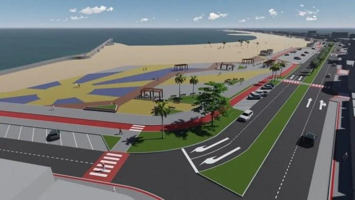 Arquiteta urbanista sugere arborização na obra da praia central de Marataízes