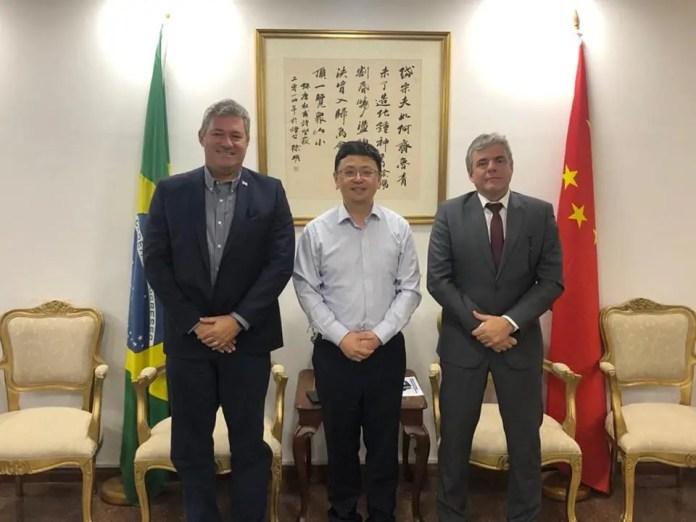 Sedes e Sejus discutem parcerias em reunião no Consulado da China