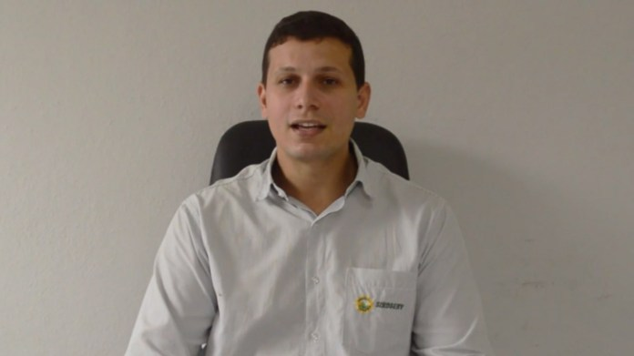 Cleverson Maia Presidente do SINDSERV Itapemirim