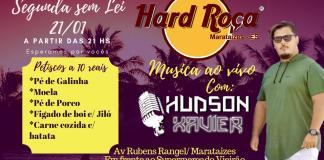 Segunda Sem Lei no Hard Roça hoje (21) com Hudson Xavier