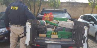 Apreensão de 560 kg de drogas em Cachoeiro pela PF