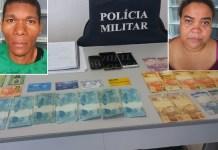 Marido e mulher são presos com notas falsas de R$ 100 e cartão Bolsa Família em Vargem Alta