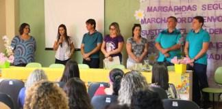 Produtoras rurais de Anchieta participam de evento em homenagem ao Dia da Mulher