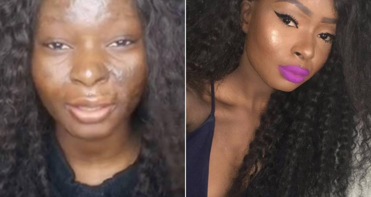 Um homem processou a sua esposa depois vê-la, pela primeira vez sem maquiagem. O casamento teve lugar na Argélia, Norte de África.