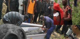 funerária confisca corpo