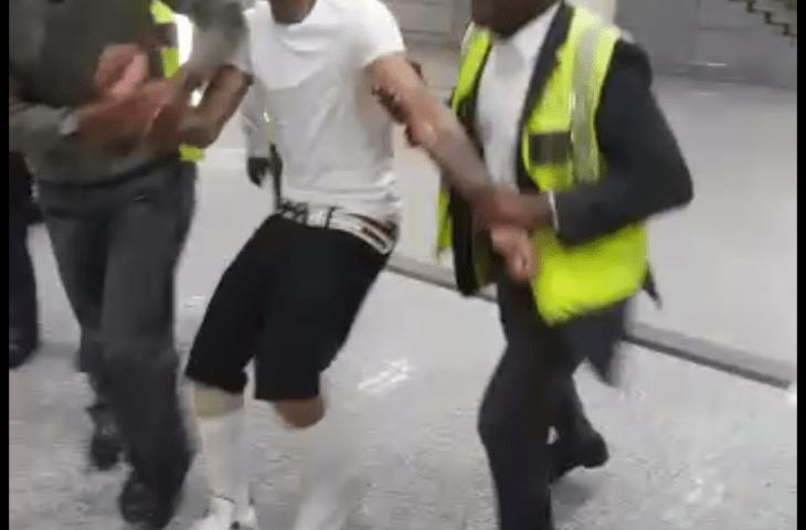 A polícia da República de Moçambique impediu, esta manhã, que um dos integrantes do grupo de rap, Força Suprema, de Angola, tomasse voo no aeroporto