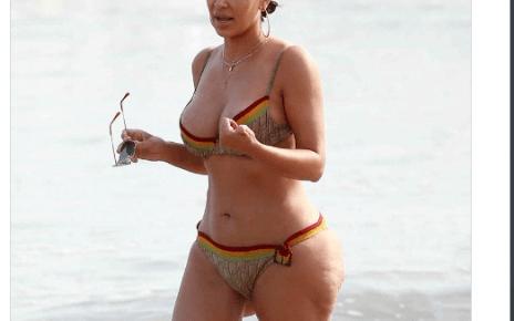 Kim Kardashian perde mais de cem mil seguidores no instagram depois de ser flagrada de biquíni e internautas não acreditam no que veem