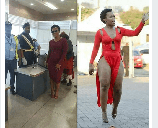 Zodwa Wabantu já se encontra em Moçambique