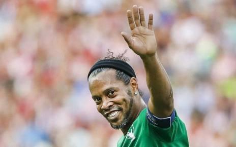 Ronaldinho Gaúcho, uma das maiores estrelas de sempre do futebol brasileiro e mundial, já não estará presente no jogo Mambas All Stars - Barcelona Legends