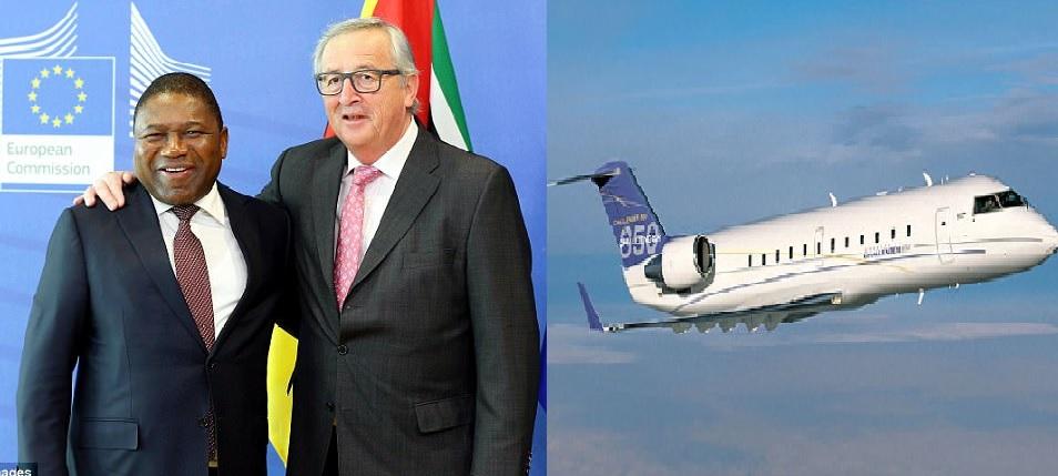 o líder de Moçambique compra um jato privado de £ 7 milhões enquanto sua gente morre de fome e o país recebe £ 55 milhões por ano na ajuda externa do Reino Unido