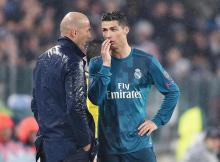 Como qualquer comum mortal, Zidane nem queria acreditar que Cristiano Ronaldo tinha feito aquela obra de arte em forma de golo à Juventus, diante dele na vitória (0-3)