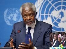 Essa visão chocante foi feita para inspirar os africanos a escolher homens e mulheres mais jovens e melhores no poder, em vez de homens idosos, Kofi Annan