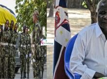 Uma semana depois de ter falecido, aos 65 anos, Afonso Dhlakama, presidente da Renamo, foi sepultado. Foi montado um recinto para a cerimónia religiosa