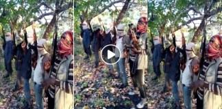 O vídeo já circulou nas redes sociais num passado nao muito distante e agoraapós a decapitação de 10 pessoas um grupo alegadamente radical voltou a mandar o recado através das redes sociais.