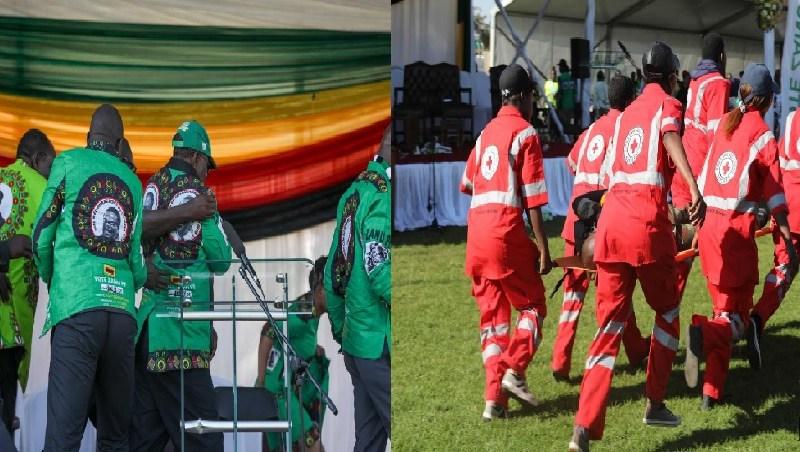 Uma explosão ocorreu este sábado num estádio no Zimbabwe onde discursava o presidente daquele país do sul de África, Emmerson Mnangagwa