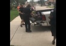Um vídeo de um crocodilo a dar uma 'cabeçada' a um polícia e a deixá-lo inconsciente tornou-se viral. O incidente aconteceu em Ocoee, na Flórida