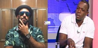 E hoje o rapper El Sayed decidiu pronunciar-se pelas posts feito pelo CEO Duas Caras na sua página do facebook dizendo