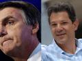 O candidato Jair Bolsonaro (PSL) venceu as eleições presidenciais brasileiras deste domingo, com 46,7% dos votos, seguido de Fernando Haddad (PT), com 28,37%