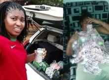 """A jovem (na imagem), usada como """"isca"""" para assalto de viaturas e cidadão das cidades da Matola e Maputo cai na rede montada pela"""