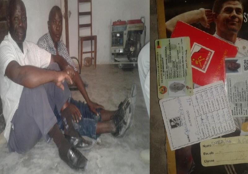 Dois cidadãos idosos e portadores de cartões de eleitores foram retidos e colocados em cárcere privado pela Renamo em Nacala Porto