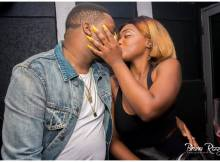O rapper Bander publicou uma fotografia na sua conta do Instagram ao lado da sua namorada, em comemoração de mais um aniversário de namoro