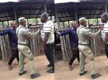 Um membro da Frelimo agrediu fisicamente a jornalistas quando estes exerciam suas actividades de cobertura jornalística da votação.