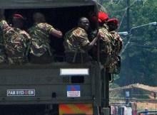 Mais uma frota de 5 autocarros de 70 lugares, transportando militares, foi vista ontem nas regiões de Metoro e Silva Macua em Ancuabe, Unguia em Meluco, e em Macomia, na província de Cabo Delgado.