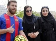 Reza Parastesh foi denunciado pelas autoridades após se passar pelo jogador argentino Lionel Messi para seduzir mulheres.
