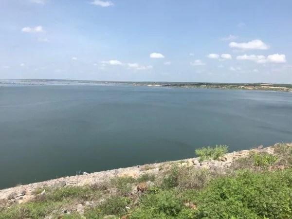 Águas do São Francisco chegam ao Reservatório Castanhão e vão abastecer Região Metropolitana de Fortaleza