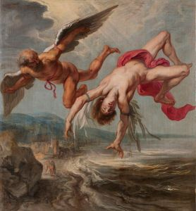 "Jacob Peter Gowy's ""The Flight of Icarus"""