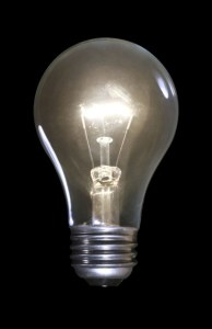 Do you identify with the light bulb or the light?
