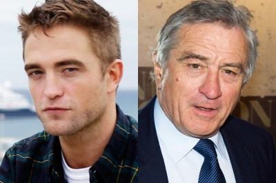 de niro e pattinson