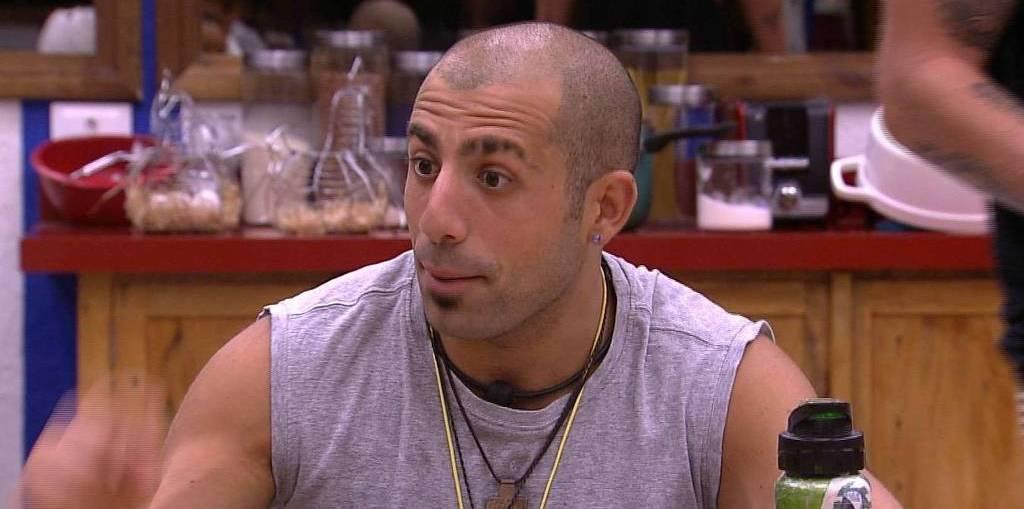 Kaysar é o último líder do BBB18 e está na final (Reprodução/TV Globo)