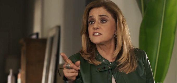 Sophia sofrerá AVC em O Outro do Paraíso (Reprodução/Rede Globo)