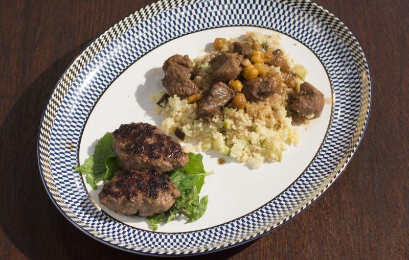 Combinado de cordeiro com cuscuz marroquino, o prato vencedor da semana no MasterChef Brasil (Divulgação/Band)
