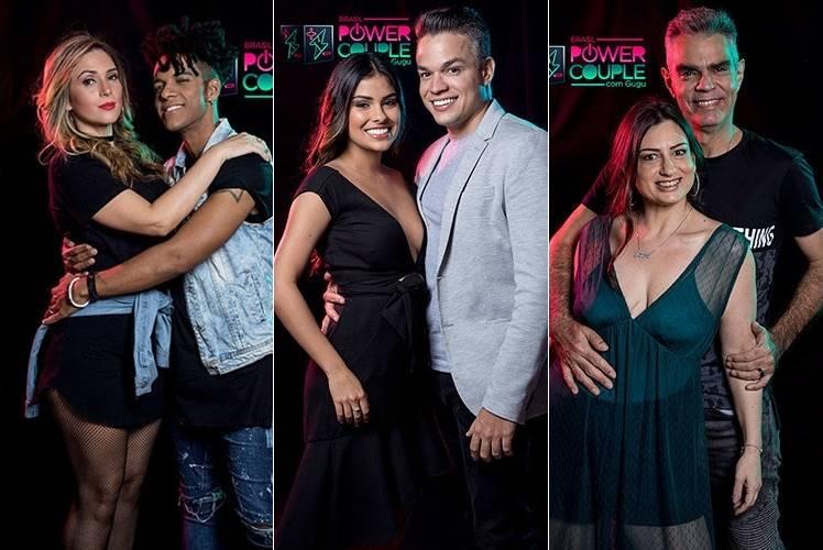 Casais foram a DR desta semana no Power Couple Brasil (Reprodução/Record)