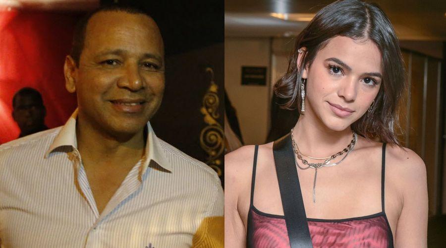 Resultado de imagem para Após fim de namoro, pai de Neymar abre o jogo sobre sua relação com Bruna Marquezine