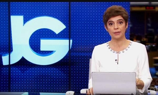 Renata Lo Prete na Bancada do Jornal da Globo (Reprodução/TV Globo)