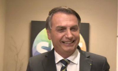 Jair Bolsonaro esteve no SBT e concedeu uma entrevista (Reprodução)
