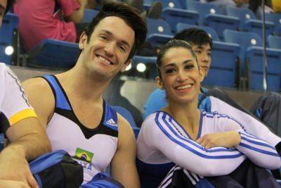 Diego e Daniele Hypólito (Reprodução)