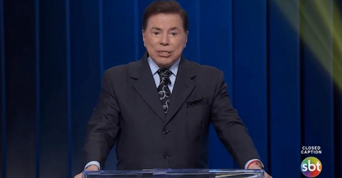 O apresentador Silvio Santos (Reprodução/SBT)