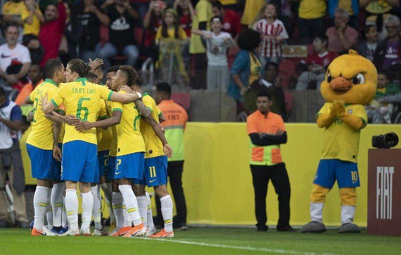 brasil e paraguai ao vivo